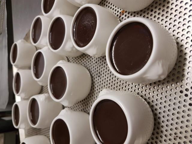 Auberge Pyrénées Cévennes Pot de Crème au Chocolat  l'Ancienne