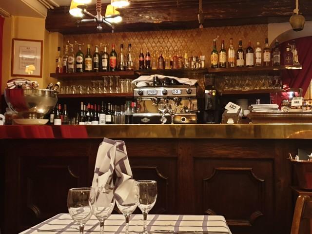 Auberge Pyrénées Cévennes Le Bar de l'Auberge